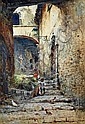 Publio de Tommasi (1849 - 1914) Italian Roman, Publio DeTommasi, Click for value