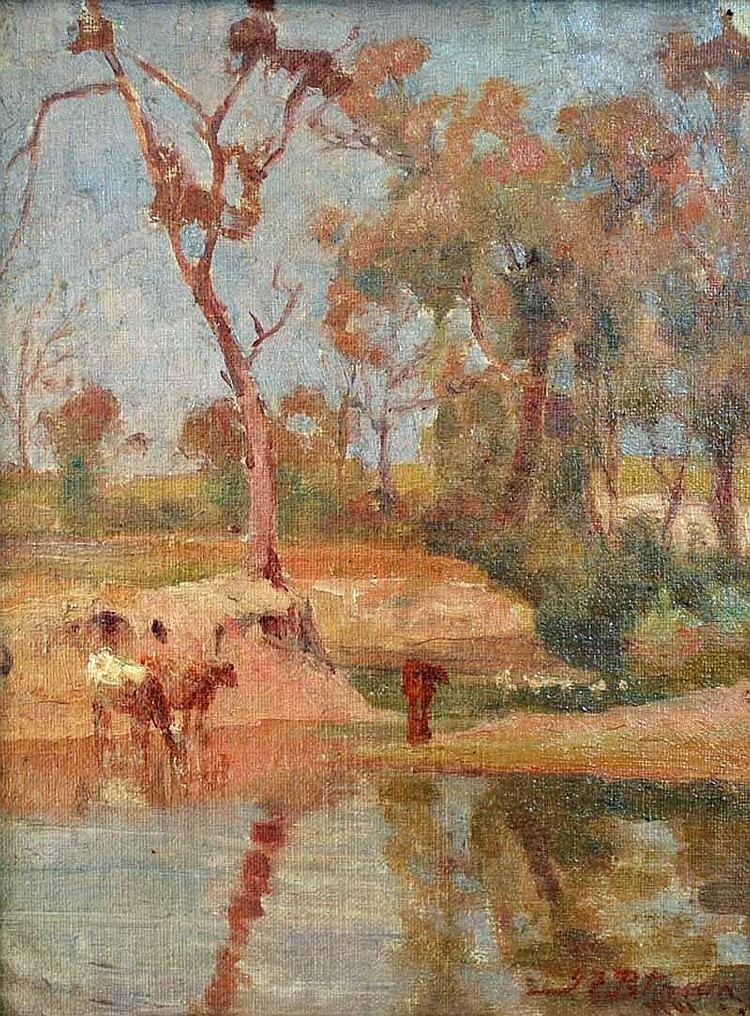 John Ford Paterson (1851-1912) Sunny Day in