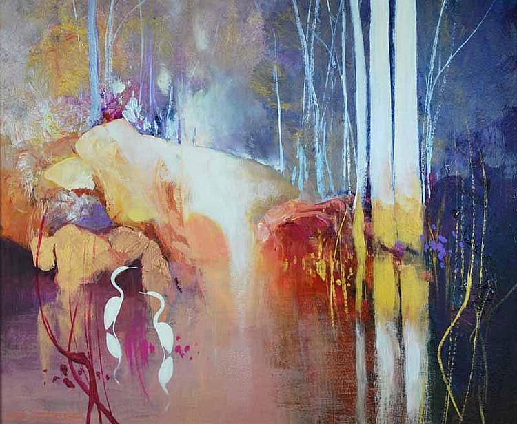 Ken Taber (b.1942) Early Morning Acrylic on artist