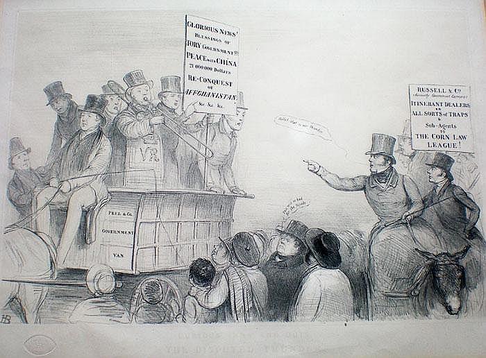 John Doyle (1797-1868,) Irish Curious Inns and