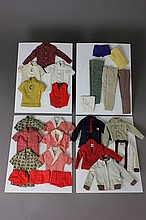 (25) PIECES OF KEN CLOTHING