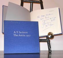 Vintage art book: The Arctic 1927, by A. Y. Jackson