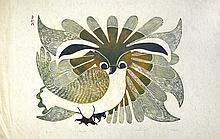 The Owl - Print by Kenojuak