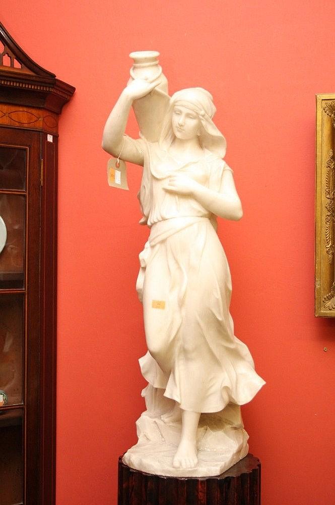 ADOLFO CIPRIANI (act. 1880-1930), Rebecca, white