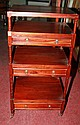 A four tier mahogany Whatnot, in William IV style,