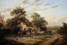 GEORGINA LARA (act 1840-1880) Figures and Farm