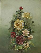 EARLY 20TH CENTURY SCHOOL, Still Life, Bouquet of