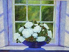 STANLEY VENNARD (20TH/21ST CENTURY IRISH), Still Life, Bowl of Flowers