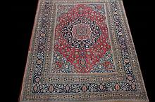 AN OLD PERSIAN CARPET, From the Mash'had region,
