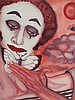MARCEL MARCEAU Mime and Butterfly, an original, Marcel Marceau, Click for value