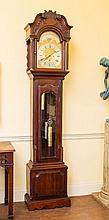 A FINE MAHOGANY EIGHT DAY LONG CASE CLOCK,  by William Haworth of Blackbury