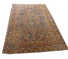 A PERSIAN TEHRAN RUG,  with all over floral patter