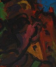 "MICHAEL KANE (B. 1935) ""Portrait Anthony Cronin"""