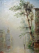 "JAMES SALT (1850-1903), ""Venetian Scene, with"