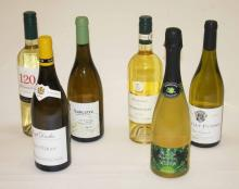FORTY MIXED BOTTLES OF WHITE AND ROSÃ? WINE,  from