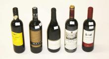 FOURTEEN MIXED 75CL BOTTLES OF RED WINE,  various
