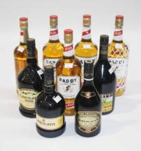 FOUR LITRE BOTTLES OF PADDY OLD IRISH WHISKEY,  a