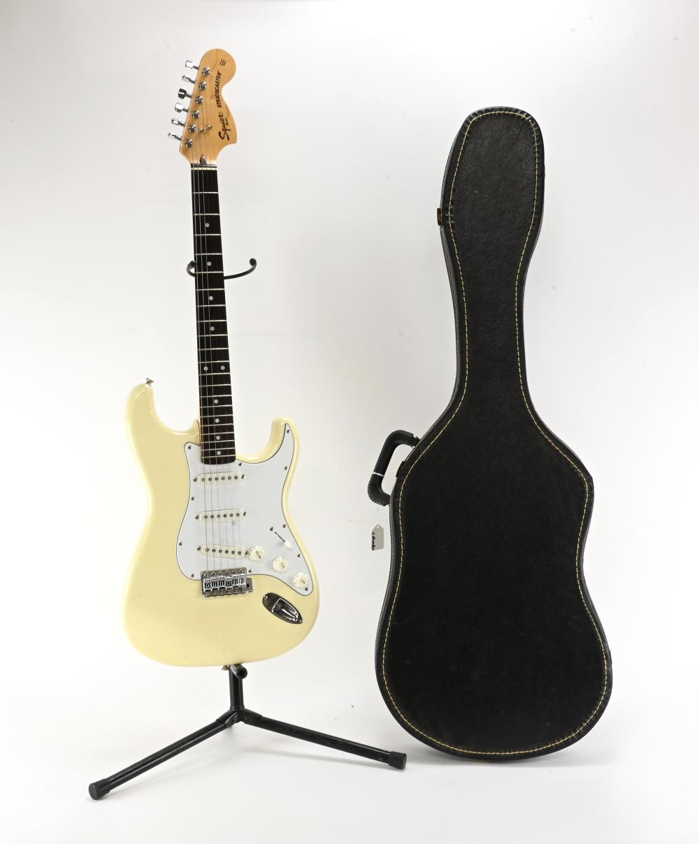 Vintage Fender Squier Stratocaster Guitar