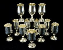 Towle Old Master Sterling Silver Goblets