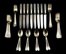 Buccellati Sterling Silver Flatware Set