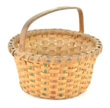 North Carolina Paint Decorated Basket