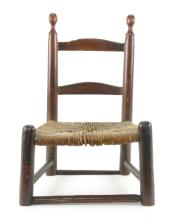 Piedmont NC Primitive Childs Chair
