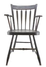 New England Arrow Back Windsor Arm Chair