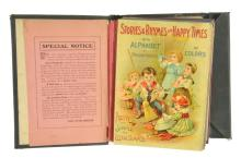 Early Childrens Book Salesman Sample