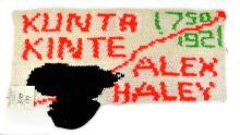Historically Important Kunta Kinte Alex Haley Roots Woven Textile