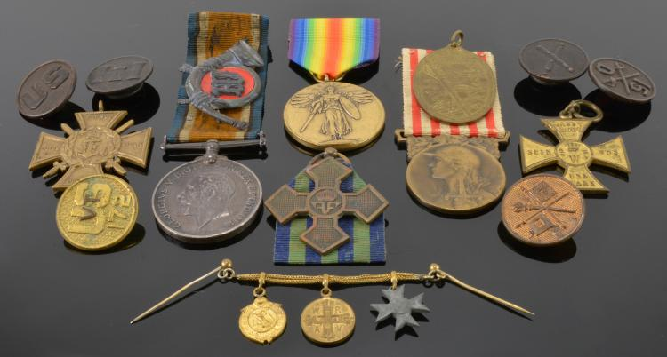 WWI Military Medal Collection