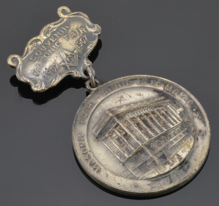 1907 Masonic Fair Medal