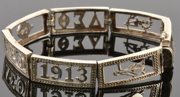 1913 Delta Sigma Theta Bracelet