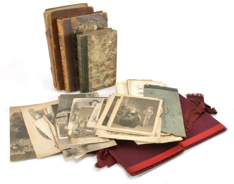 Book Print Photo Paper Collection Lot