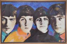 The Beatles Poster By Dallas Saunders