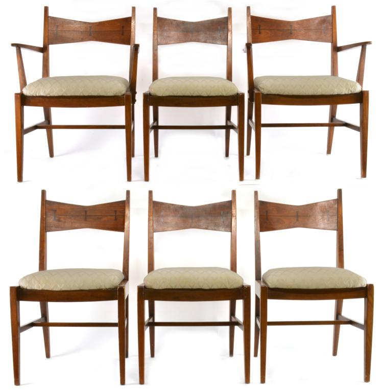 Wondrous Lane Tuxedo Set Of 6 Dining Chairs Bralicious Painted Fabric Chair Ideas Braliciousco