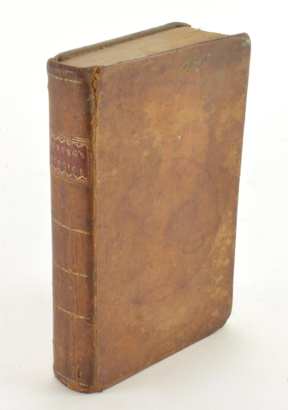 Henings Justice 1795 New Virginia Justice By Hening Richmond