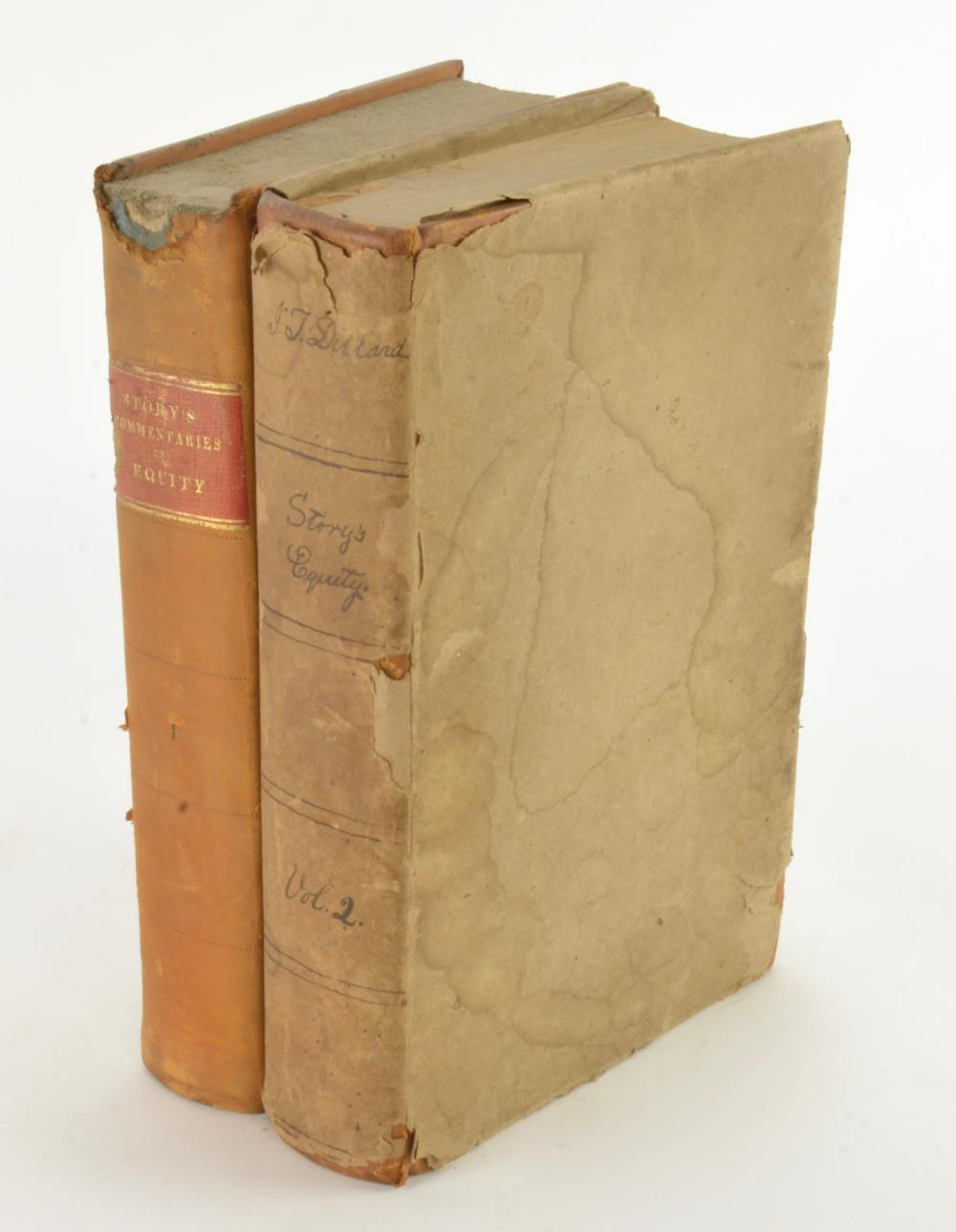 Commentaries On Equity Jurisprudence By Joseph Story 1836