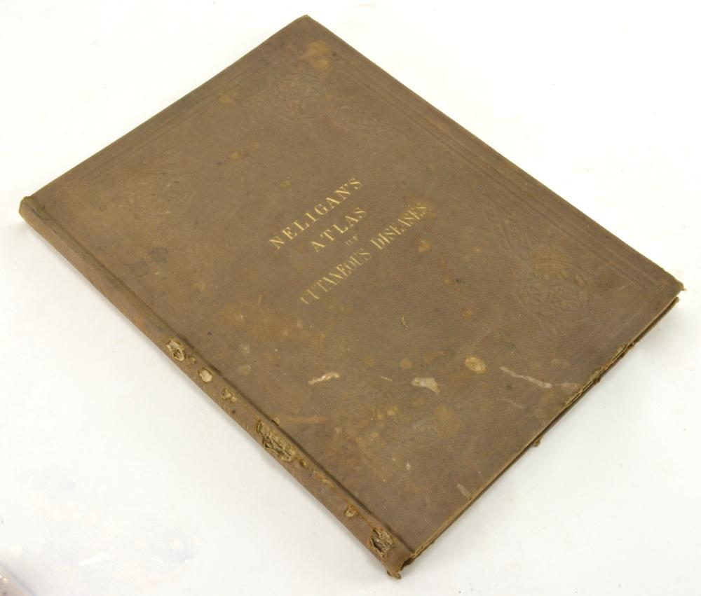 Atlas Of Cutaneous Disease By J. Moore Neligan 1856 Philadelphia