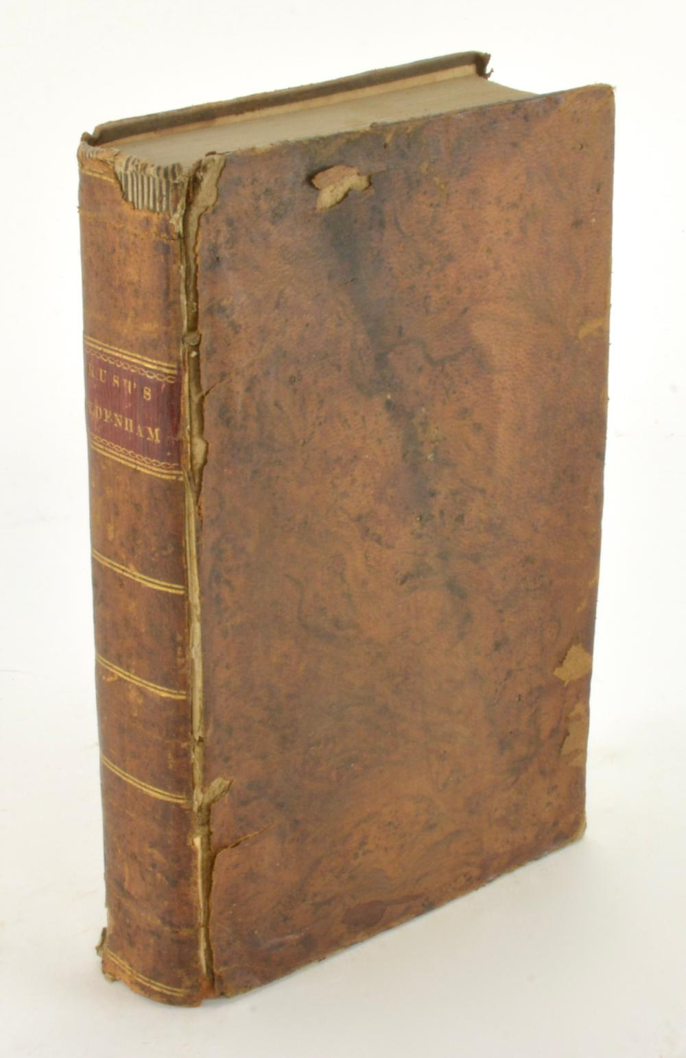 The Works Of Thomas Sydenham Acute And Chronic Diseases By Benjamin Rush 1815 Philadelphia