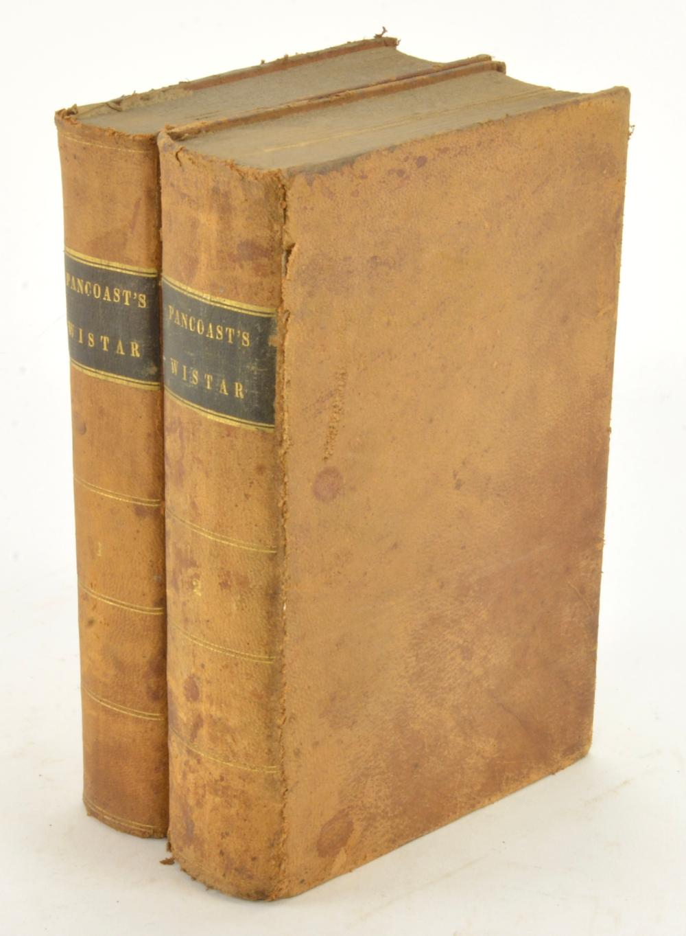 A System Of Anatomy Students Of Medicine By Caspar Wistar 1842 Philadelphia