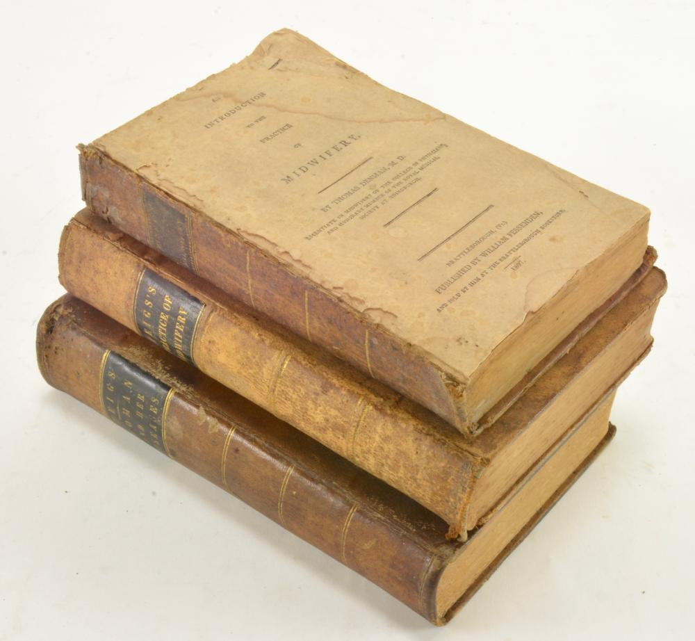 Collection Of Midwifery By Thomas Denman 1807 Charles D. Meigs 1842