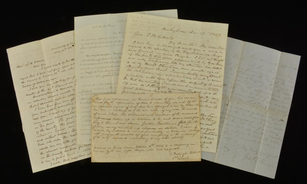 Virginia Collection Of Pre-War Letters