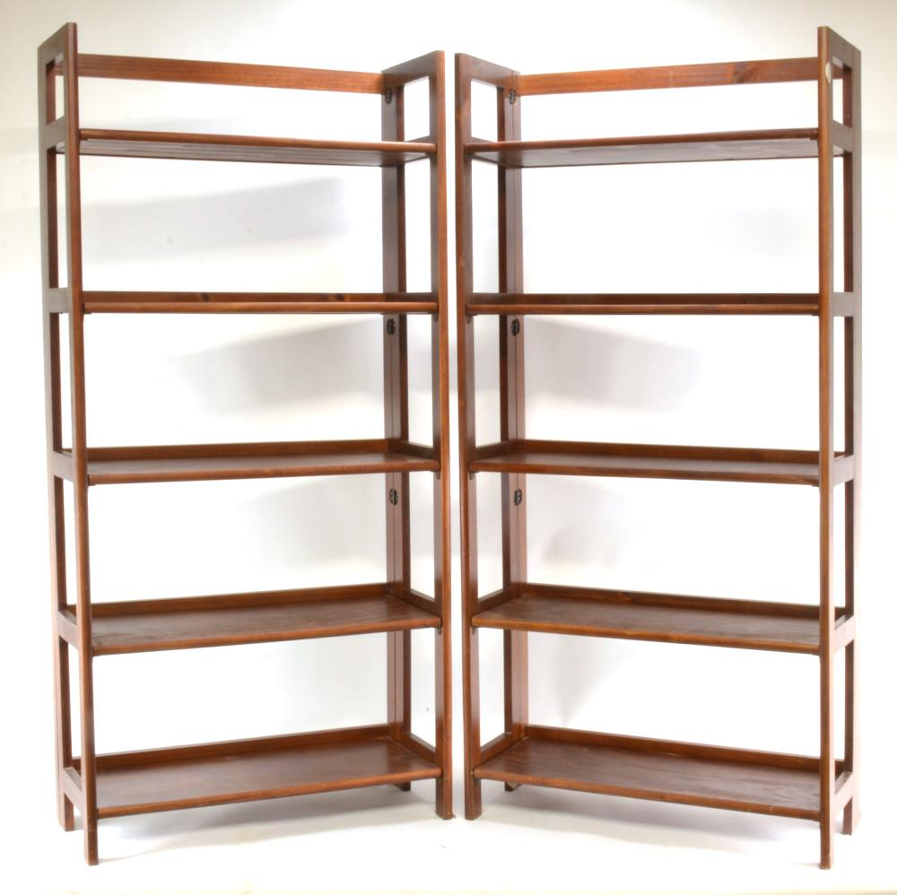 Modern Design Folding Bookcases