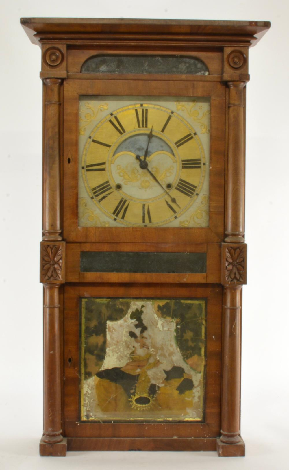 Antique Birge & Case Bristol Conn Eight Day Mantel Clock