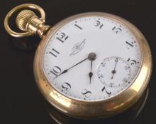 Official Railroad Standard Ball Pocket Watch