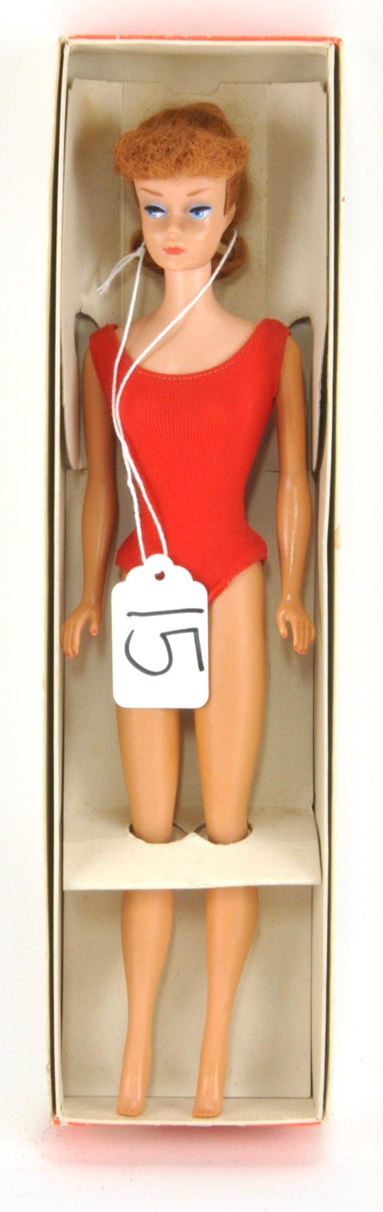 Titian Pony Tail Barbie Doll