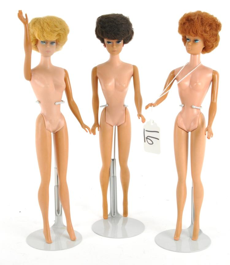 Bubble Cut Barbie Dolls