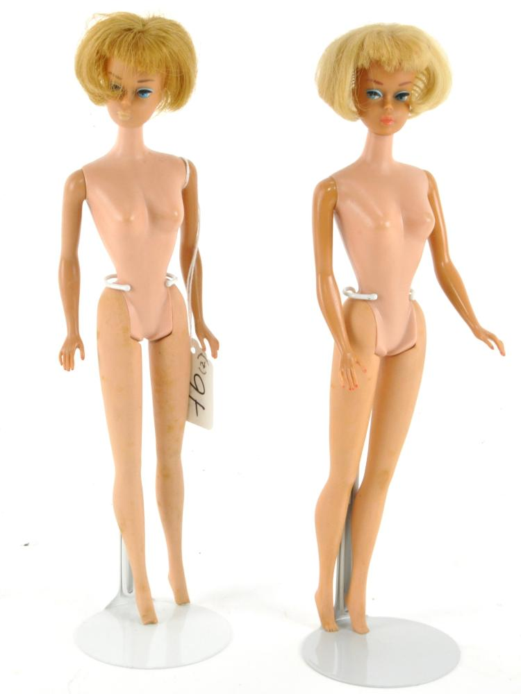 Two American Girl Barbie Dolls