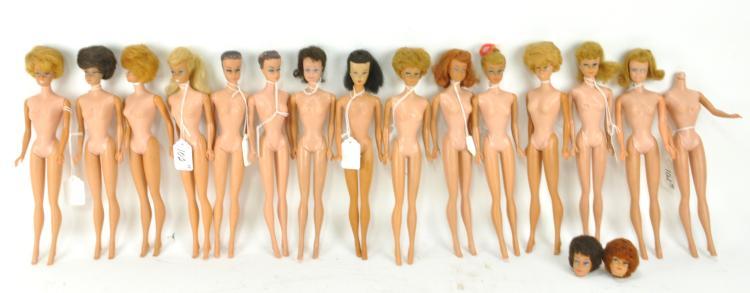 Group of Tender Love and Care Vintage Barbie Dolls