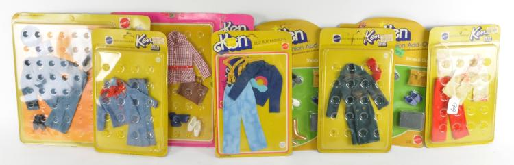 Ken Doll Clothing Collection
